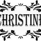 Frame Name Christine by PM-Names