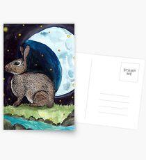 The Fourth Rabbit Postcards