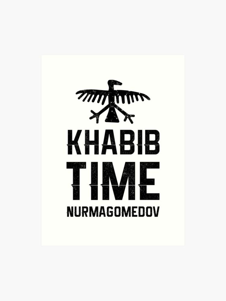 bd215c115 Khabib Time Nurmagomedov Eagle Mma UFC T-shirt