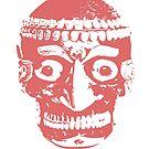 Tibetan Kapala Human Skull Cap T-Shirt by Nick Lewis