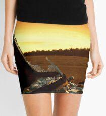 Shattered, Barrabool Farm Lands Mini Skirt