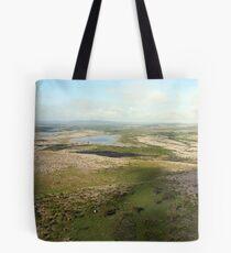 Burren view Tote Bag