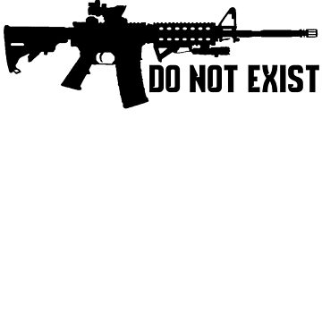 BECAUSE SUPERHEROES DO NOT EXIST AR15 T-SHIRT by nojoketyler