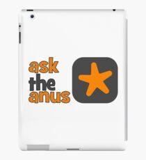 Ask The Anus Logo iPad Case/Skin