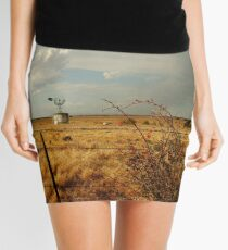 Passing Rain,Rural Geelong Mini Skirt