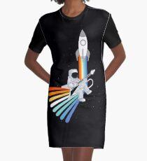 Vestido camiseta Space Rock-et Man