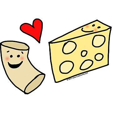 Cute Macaroni and Cheese Love by CuteNComfy