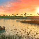 Westlands Sunset Florida by Marc  Mons