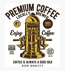 classic coffee maker Photographic Print