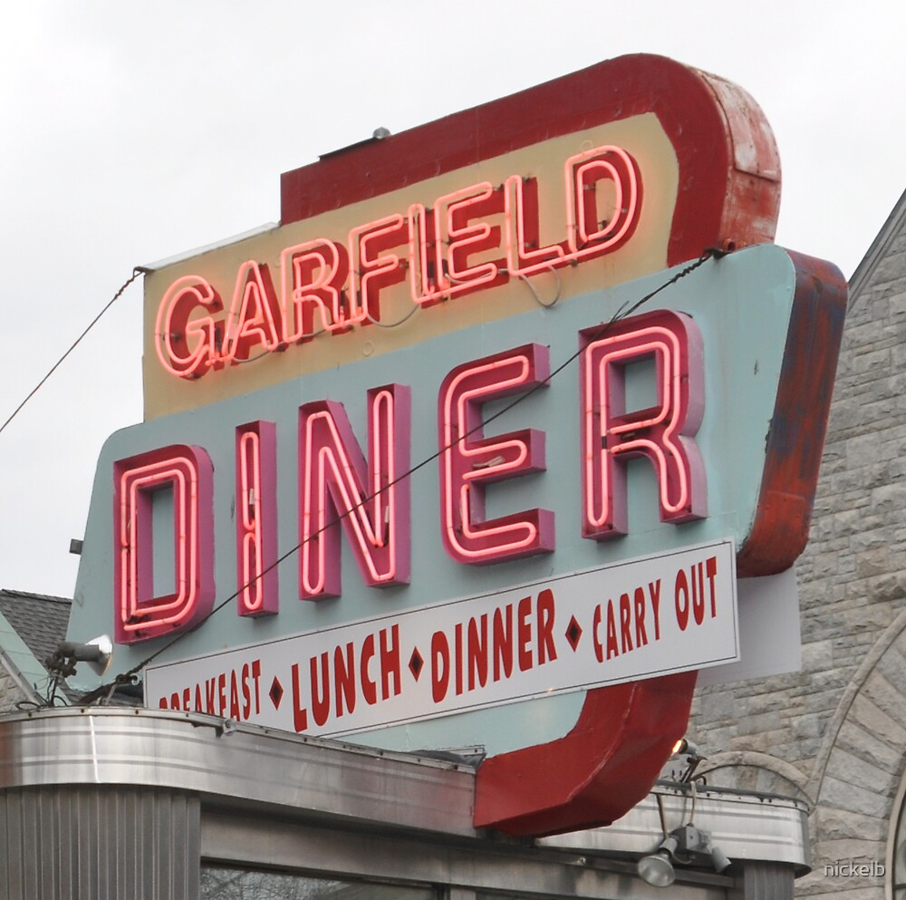 garfield diner PA by nickelb