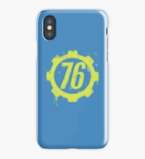 Shelter 76 iPhone Case