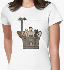 Insel der Hunde Tailliertes T-Shirt