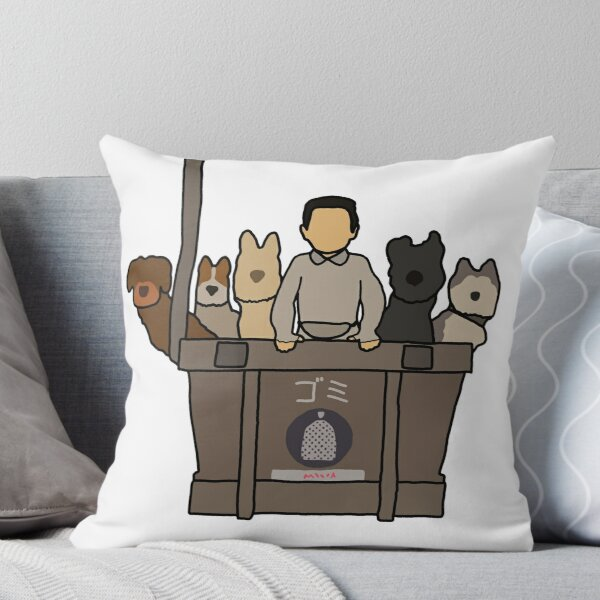 Isle of Dogs Throw Pillow