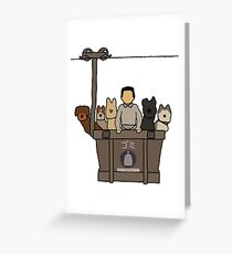 Isle of Dogs Greeting Card
