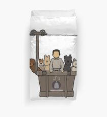 Isle of Dogs Duvet Cover