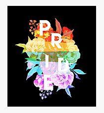 Floral Pride Photographic Print