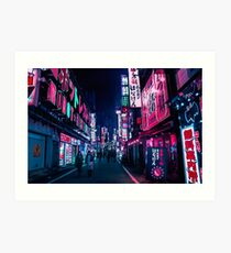 Nocturnal Alley Art Print