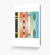 Spectrum of Eeveelution Greeting Card