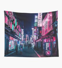 Nocturnal Alley Wall Tapestry