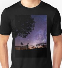 Space universe night Unisex T-Shirt