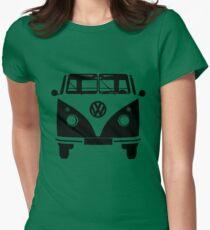 VW Bus Adventurous Women's Fitted T-Shirt