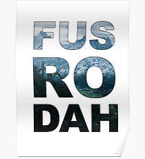 FUS RO DAH! Poster