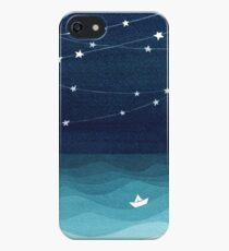 Garland of stars, teal ocean iPhone SE/5s/5 Case