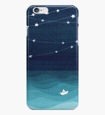 Garland of stars, teal ocean iPhone 6 Case