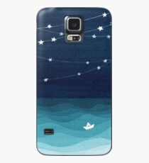 Garland of stars, teal ocean Case/Skin for Samsung Galaxy