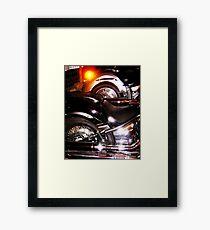 Shiney Framed Print