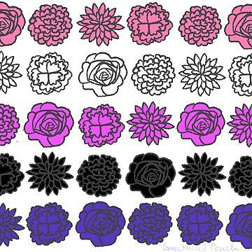 Genderfluid Flower Flag by SpectacledPeach