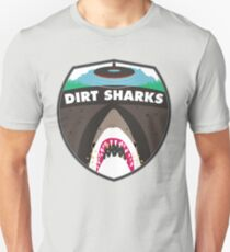 Dirt Sharks Logo - Detectorists - DMDC Unisex T-Shirt