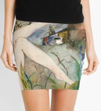Out By The Barn Mini Skirt