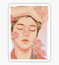 baby good night [lucas nct] Sticker