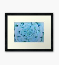 Blues Abstract Framed Print