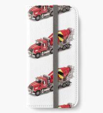 Mixer Truck iPhone Wallet/Case/Skin