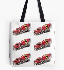 Mixer Truck Tote Bag