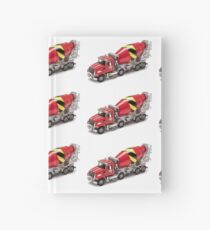 Mixer Truck Hardcover Journal