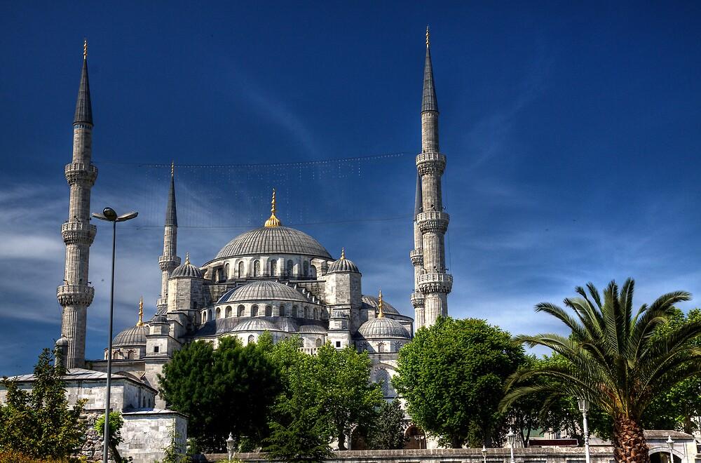 Blue Mosque  by pixeljunkie19