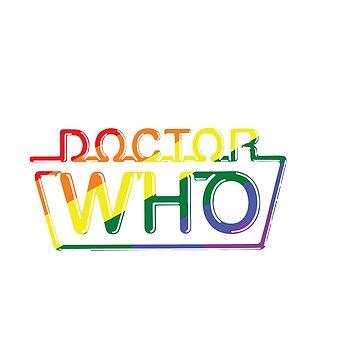 «Docteur Who Fierté» par agcdesign