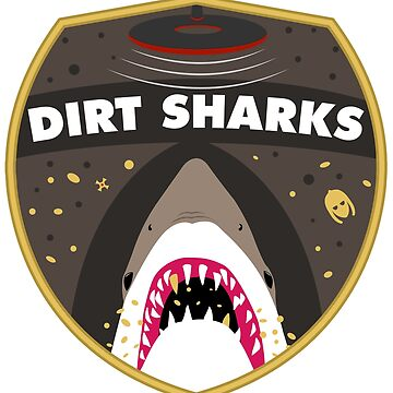 Dirt Sharks Staffordshire Hoard Badge - Detectorists - DMDC by wo0ze