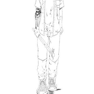 Sketching to Ellie by Dielissa