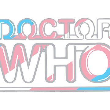 «Docteur Who Trans Pride» par agcdesign
