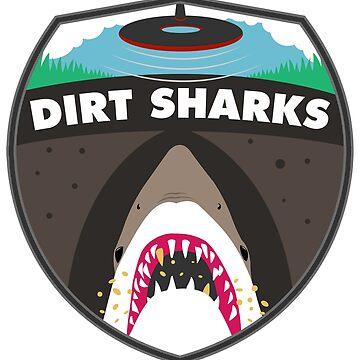 Dirt Sharks Badge - Detectorists - DMDC by wo0ze