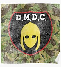 DMDC Detectorists Logo - Distressed Poster