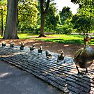 Ducks In A Row by Jack DiMaio