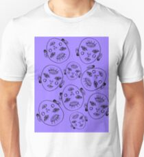 heads will roll (outline) Unisex T-Shirt