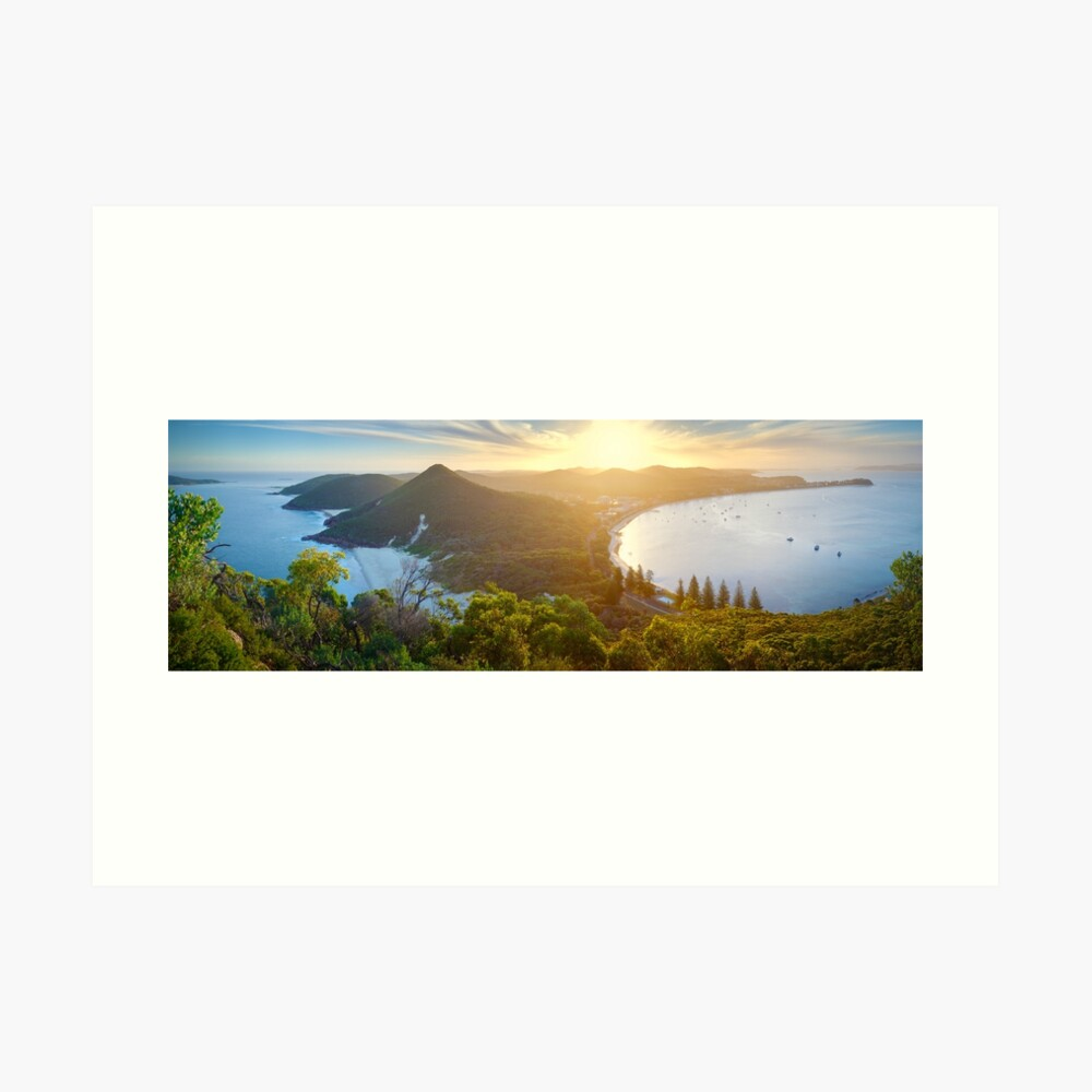 Shoal Bay, New South Wales, Australia Art Print