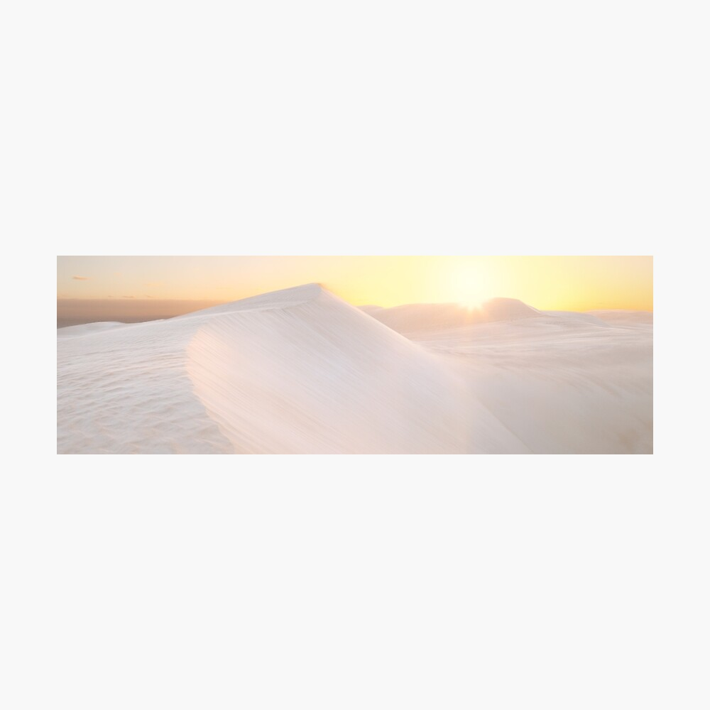Gunyah Beach Sand Dunes, Coffin Bay, South Australia Photographic Print