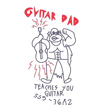 Guitar Dad Teaches You Guitar by Liobits